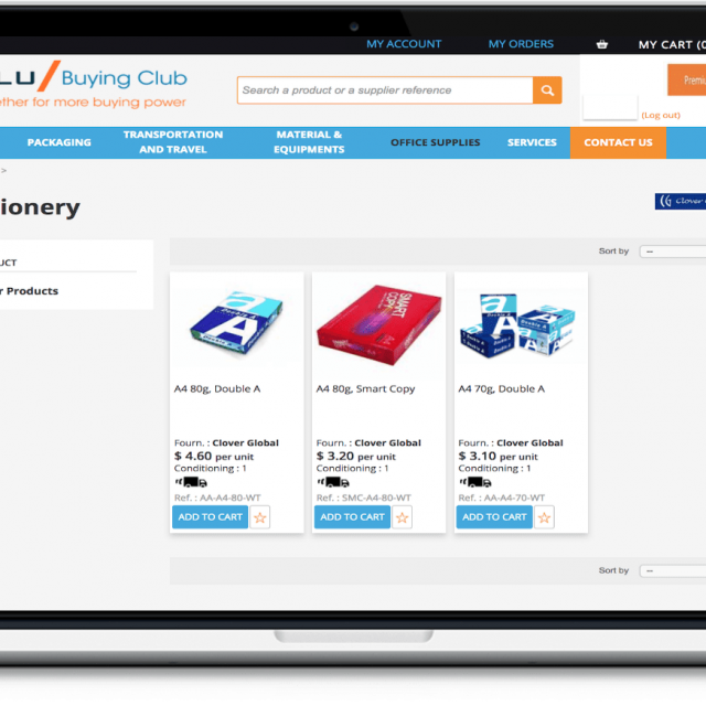 Blu Buying Club – Corporate Services Review